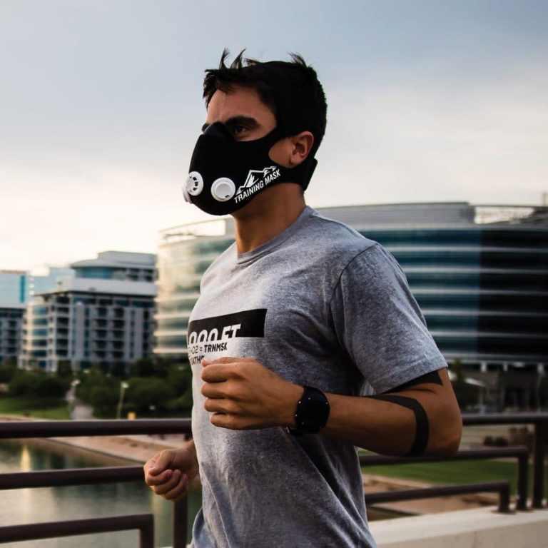 Máscaras de entrenamiento en altitud: ¿son útiles?