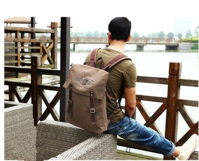 mochilas, bolsos y carteras para hombres