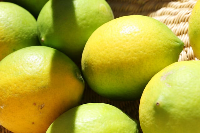 alimentos más saludables limones