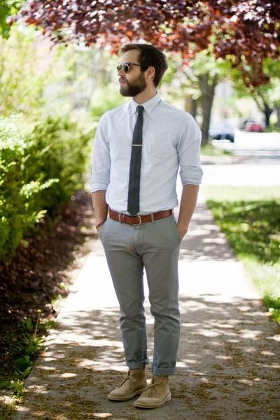 camisas blancas para hombre