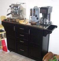 Cluttered Kitchen Counters - Espresso Machines