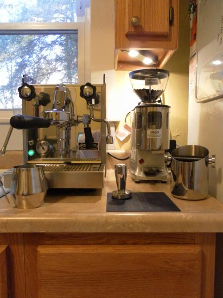 Post a pic of your home espresso setup  Page 215
