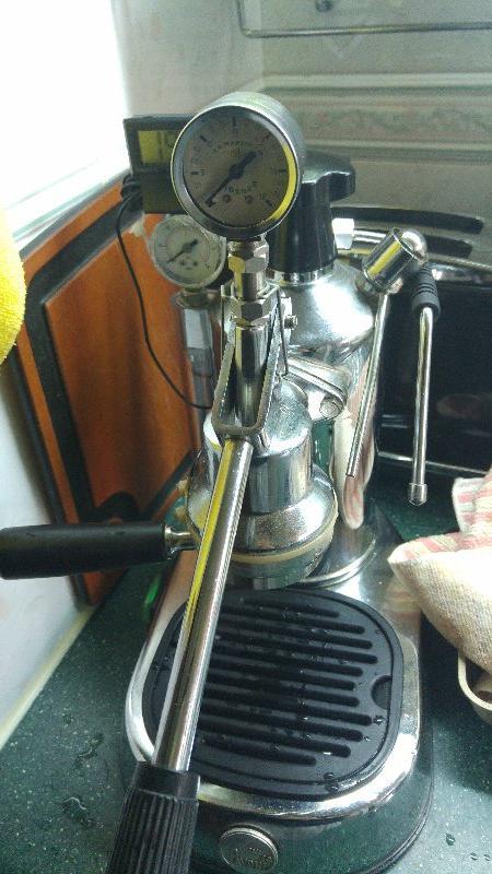 La Pavoni Europiccola Brew Pressure Gauge Kit