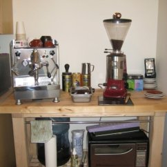 Long Kitchen Table Commercial Hood Post A Pic Of Your Home Espresso Setup - Page 38