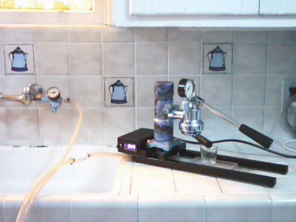 RoboPavoni learning to make espresso machine from scratch