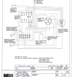 as you can see above the hot and neutral wires black and white respectively need to pass through the main switch on your grinder they need to connect  [ 823 x 1200 Pixel ]