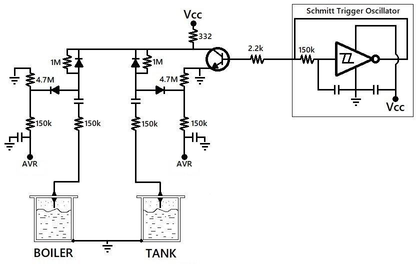 Understanding the La Marzocco GS3 Level Detect Circuit
