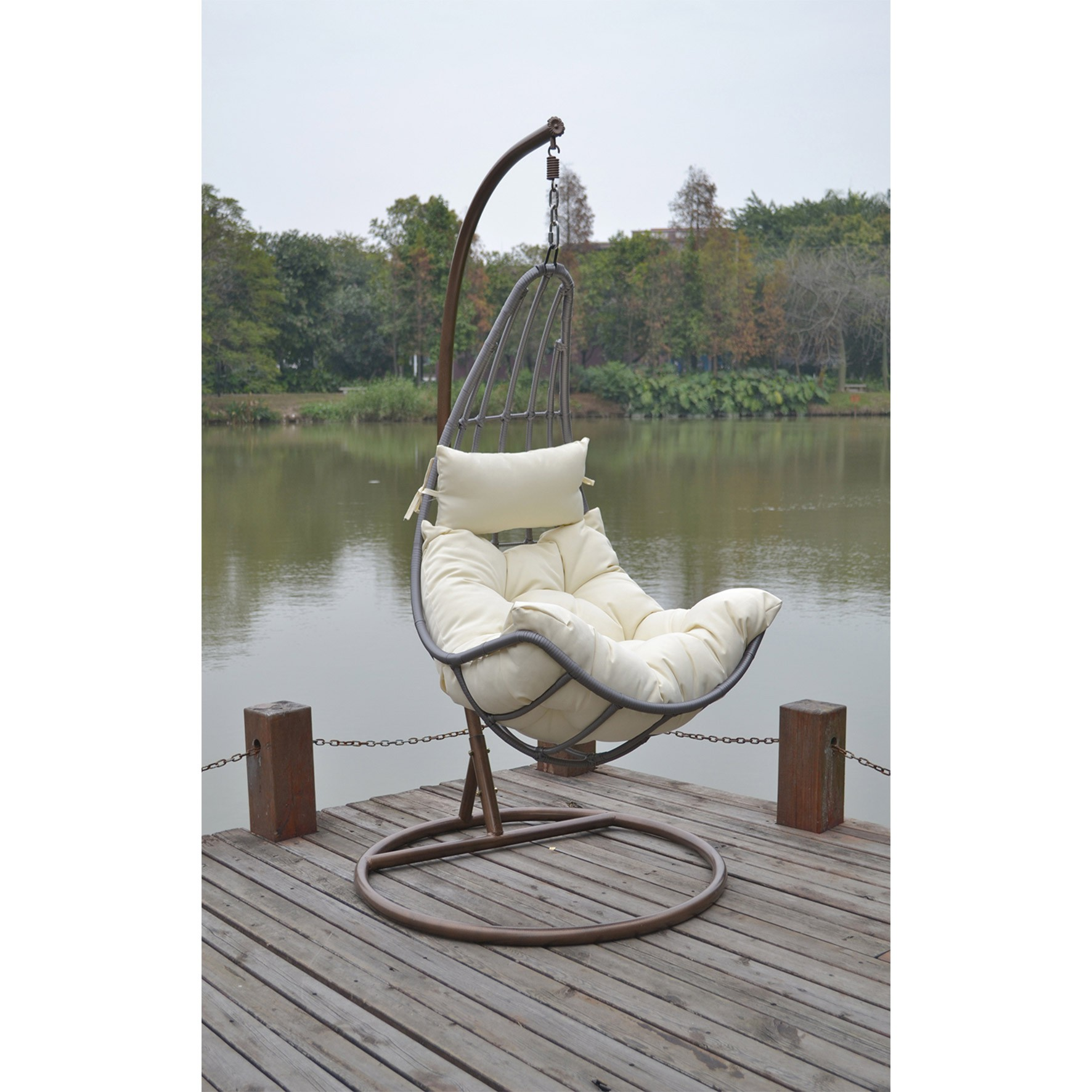 hanging chair cane rocking cushions for nursery wicker cama