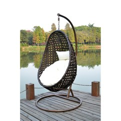 Hanging Chair Cover Best Computer Desk Wicker Nido Including Rain