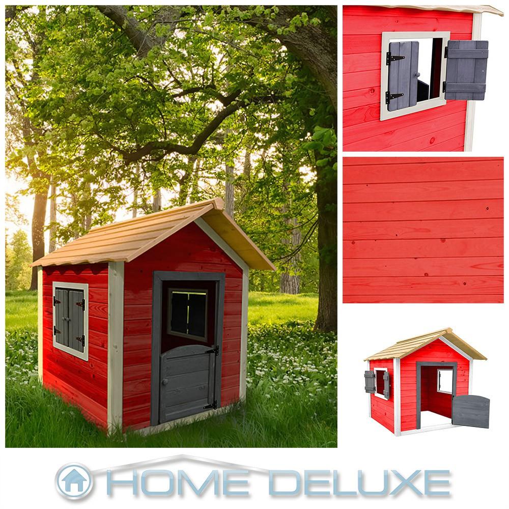 Kinderspielhaus Holz Spiel & Gartenhäuser EBay