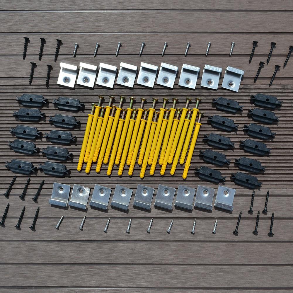 Wpc Terrassendielen Anthrazit 20M² (2,20 M)