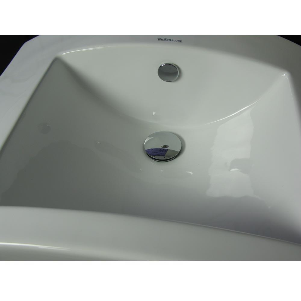 AbflussSet fr alle Waschbecken Klickverschluss  Verbindungsrohr  Siphon