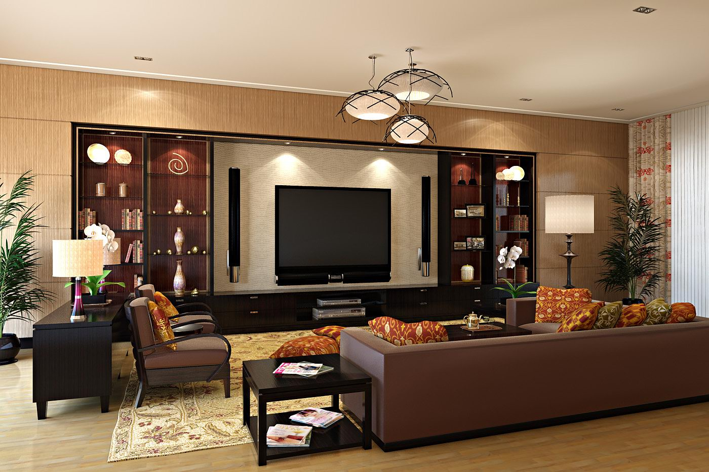 a picture of living room yellow accent decorating ideas with entertainment center decorzt interior designs home spaces