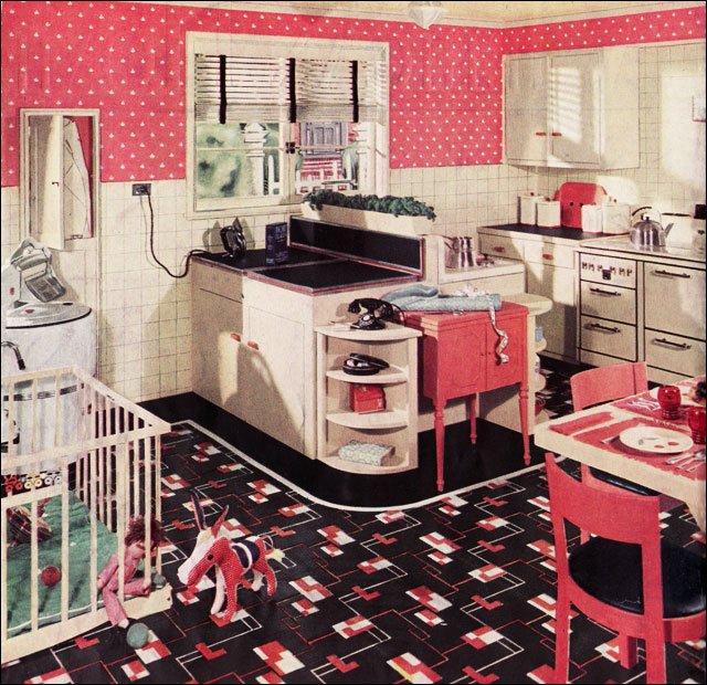Kitchen Decor Retro