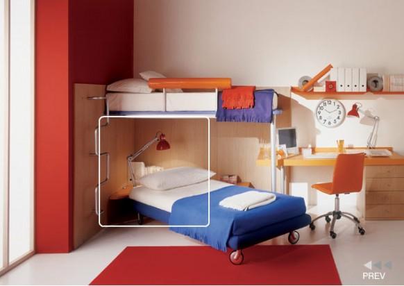 kids room corner