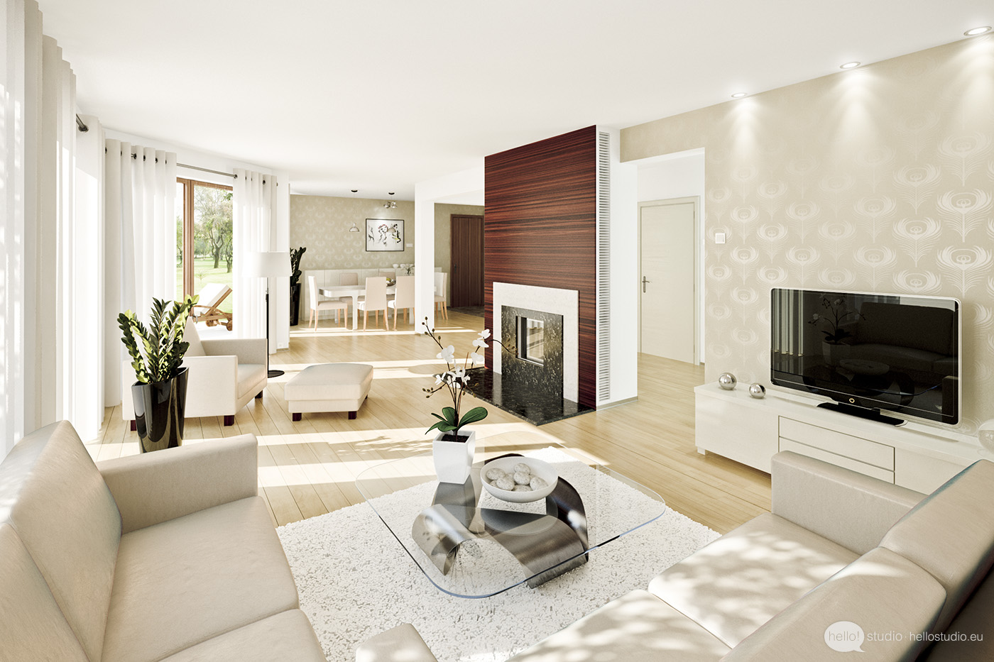 10 Beautiful Living Room Spaces
