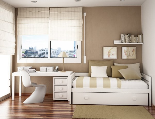 small bedroom spaces Home Sweet Home: Space Saving Ideas for Small Kids Rooms