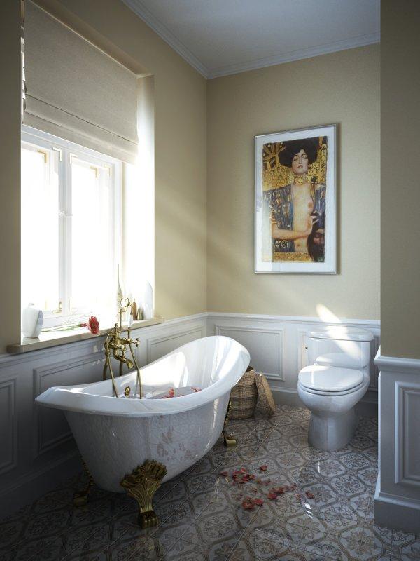 Clawfoot Tub Bathroom Design Ideas