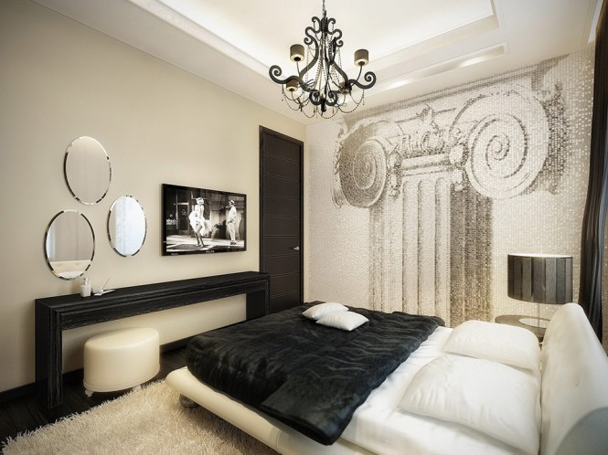 black and white super luxurious