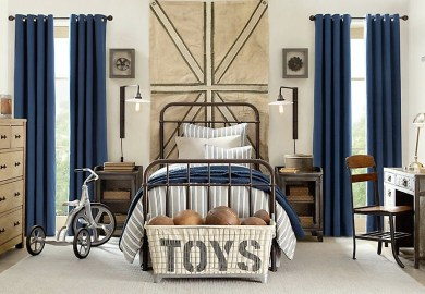 Teen Boys Bedroom Curtains