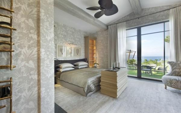 plantation fanned bedroom