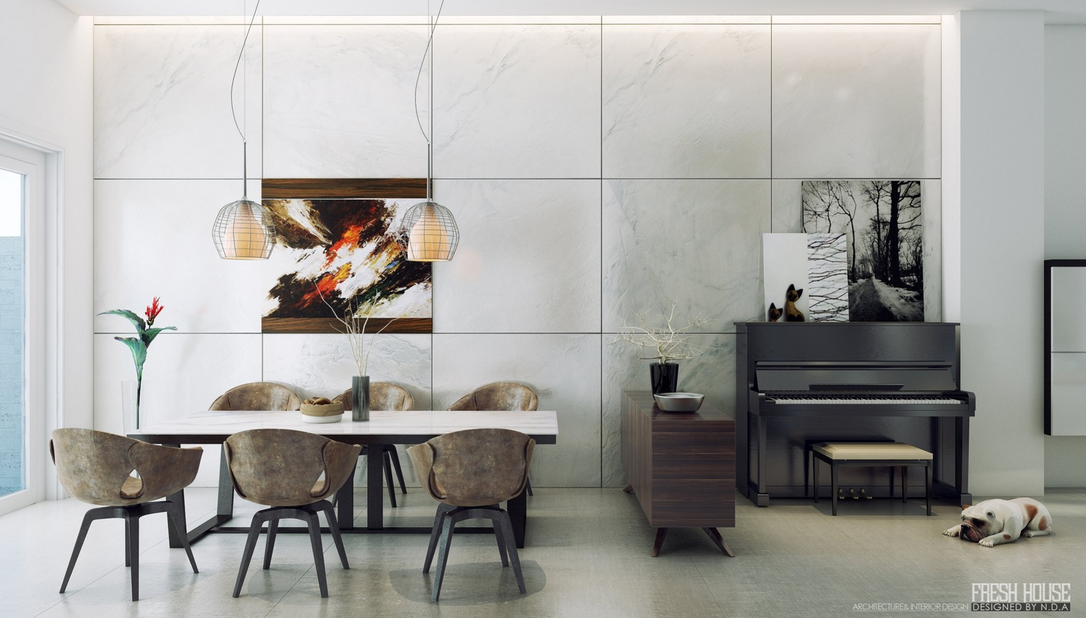 contemporary dining room 3