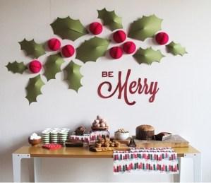 クリスマスデコレーション ー赤ー