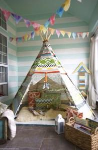 子供部屋に秘密基地 ーテントー
