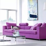clip:白x紫 リビング