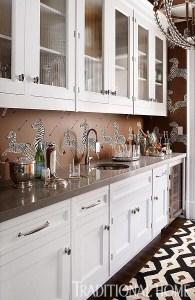 [snap]キッチンの壁に思い切って壁紙を貼ってみる