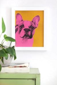 [cut]愛犬の写真をポップアートに