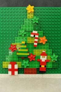 レゴブロックのクリスマスツリー