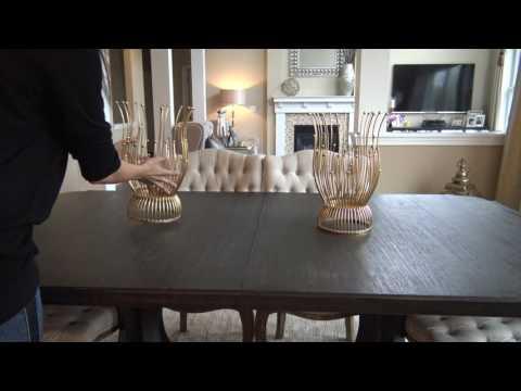 ダイニングテーブルのスタイリング