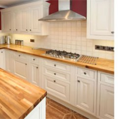Wood Countertops Kitchen Cherrybrook Home Dzine Solid For Kitchens