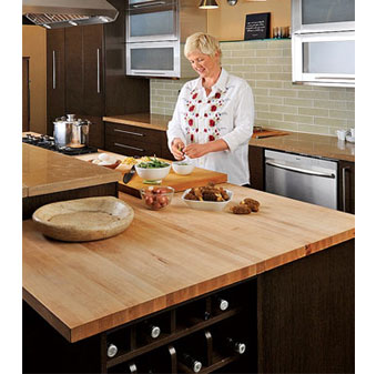 kitchen tops wood amazon appliances home dzine solid countertops for kitchens