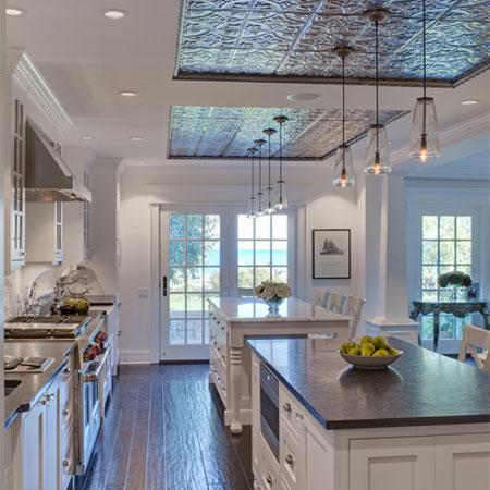 HOME DZINE Home Decor  Pressed tin ceilings
