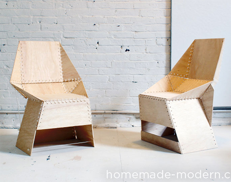 how to make a plywood chair grey recliner uk home dzine diy these chairs