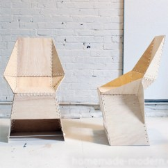 How To Make A Plywood Chair Inexpensive Living Room Chairs Home Dzine Diy These
