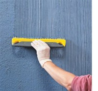HOME DZINE | How to apply textured stripes on walls