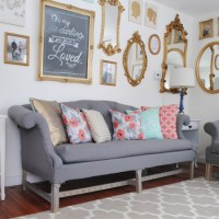 HOME DZINE Craft Ideas | How to reupholster a love seat or ...