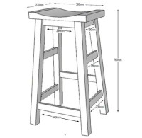 HOME DZINE Home DIY | Make your own bar stools