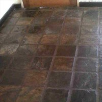 HOME DZINE Home DIY | Clean and strip slate tiles