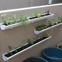 HOME DZINE Garden Ideas   Adding a herb and veggie gutter ...