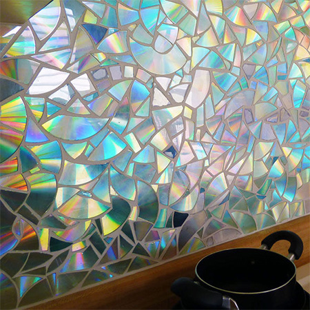 HOME DZINE Craft Ideas  Recycle CDs into a gorgeous
