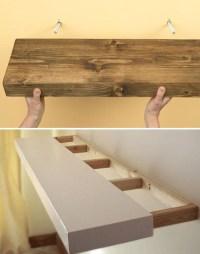 HOME DZINE Home DIY | Easy shelf ideas that you can DIY