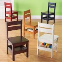 HOME DZINE Home DIY | DIY kiddies chair with storage shelf