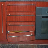 HOME DZINE Kitchen | Fix loose or broken drawer fronts