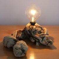 HOME DZINE Craft Ideas | Unique ways to craft wood lamps ...