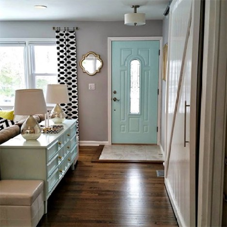 A young couple turned a dowdy old house into a wonderful modern home with clever planning, creative ideas and on a small budget.