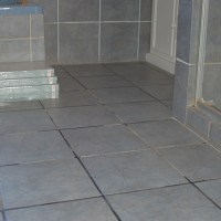 HOME DZINE Bathrooms | Cover up ugly tiles with Belgotex ...